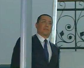 Ponta, audiat din nou la DNA (Video)