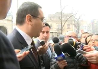 Ponta, audiat la ICCJ: De campania pentru referendum s-au ocupat Dragnea si Hellvig