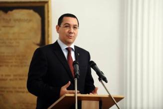 Ponta, bucuros ca Lukoil isi reia activitatea: Nu vreau sa vina 3.500 de angajati in fata Guvernului (Video)