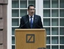 Ponta, de Ziua Americii: Glumite, regrete si felicitari (Video)