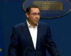Ponta, de la Palatul Victoria: Guvernul nu se inchide ca un supermarket la dorinta dlui Dragnea. Grindeanu a trecut un test aproape mafiot