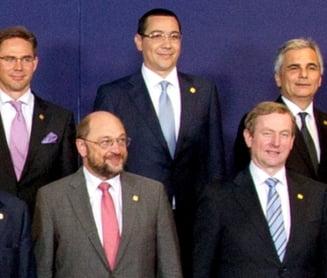 """Ponta, despre Basescu: Domnul """"6 la suta"""" participa la Consiliul European, nu eu"""