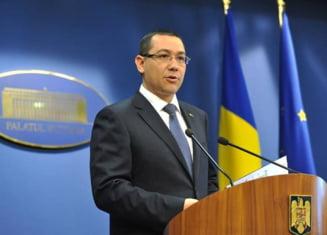Ponta, despre Legea Insolventei si reducerea CAS: Am o veste buna si una proasta