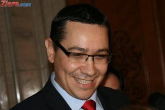 Ponta, despre Miscarea Populara: Le urez succes celor de dreapta in aceste miscari browniene