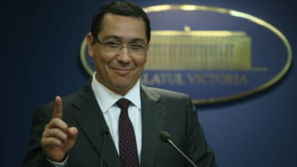 Ponta, despre Miscarea Populara: Loseri de profesie care se inchina la icoana lui Basescu