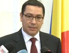 Ponta, despre Rosia Montana: Am teama ca semnalul va fi ca in Romania nu se mai face nimic