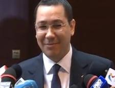 Ponta, despre Traian Basescu: Un om politic care tine la Romania ar trebui sa-si dea demisia (Video)
