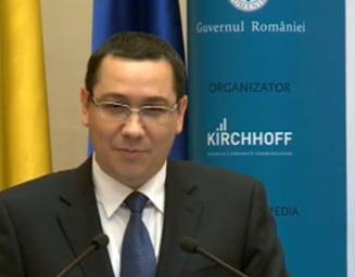 Ponta, despre acordul cu FMI: Am incheiat toate negocierile. Ce face presedintele, trebuie sa-l intrebati pe el