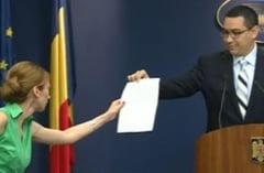 Ponta, despre acordul de desfiintare a DNA: O intoxicare de campanie a PDL (Video)