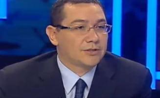 Ponta, despre amenintarile lui Rogozin: Se puteau ridica avioanele, am fost eu comandantul suprem in locul lui Basescu