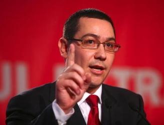 Ponta, despre bugetari: Sper sa nu se lase pacaliti ca le mai da o luna ceva