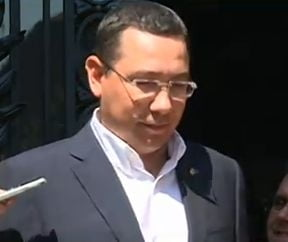 Ponta, despre consultarile cu Iohannis si codul incompatibilitatilor (Video)