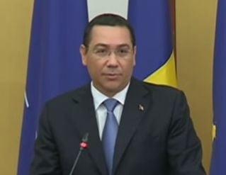 Ponta, despre criza imigrantilor: Avem institutii care sa-i racoreasca pe politicienii cu creierii incinsi