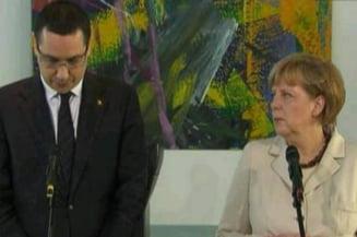 Ponta, despre discutiile cu Merkel: N-am vorbit aproape deloc de criza politica din 2012 (Video)