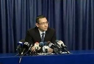 Ponta, despre ministrii acuzati de coruptie: E ca in chestiunea cu apostolii