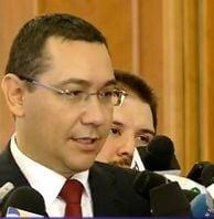 Ponta, despre motiunea PNL: Un esec, un fel de motiune la adresa PDL-PNL