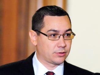 Ponta, despre motiunea de cenzura a PDL: In locul lui Blaga ma ascundeam prin casa