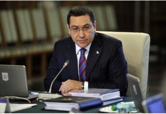 Ponta, despre noul Cod Fiscal: Nu e forma finala, Guvernul nu impune nimic