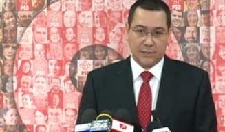 Ponta, despre organizarea alegerilor in diaspora: Diplomatii, pusi sa faca ceva ce nu stiu si fac prost