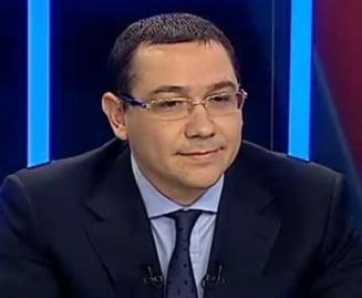 Ponta, despre plagiat: I-am zis lui Basescu ca nu-l iert. Si el traieste cu Flota