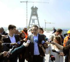 Ponta, despre podul Agigea: Ma bucur ca nu s-a prabusit, ca eu eram de vina