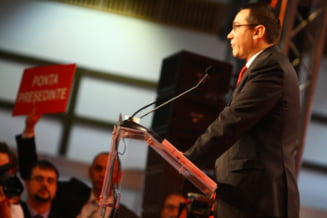 Ponta, despre politistii protestatari: As fi fost mai violent decat ei