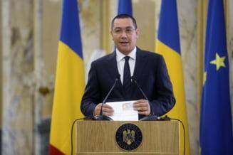 Ponta, despre portofoliul obtinut de Romania in Comisia Europeana: E un succes