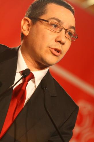 Ponta, despre privatizarea CFR Marfa: Acordul cu FMI are o prevedere proasta pentru unii