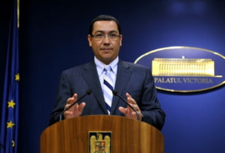 Ponta, despre problemele de la Antene: Niste jurnalisti extraordinari, o sa mai particip la emisiuni