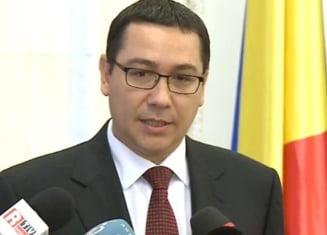 Ponta, despre proiectul Rosia Montana: Respingere urgenta la Senat, apoi la Camera