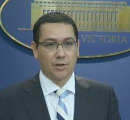 Ponta, despre referendum: Desi optiunea guvernului era alta, am raspuns apelului UE (Video)