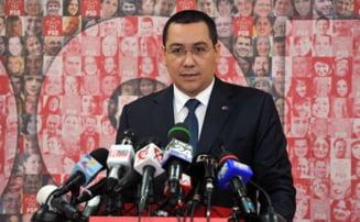 """Ponta, despre renuntarea la titlul de """"doctor"""": Suntem in gluma """"cu sapca, fara sapca"""""""