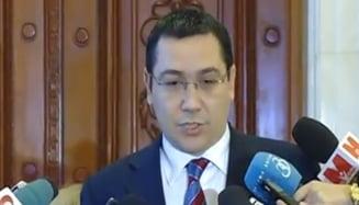 Ponta, despre retinerea cumnatului si o posibila demisie: Imi pare rau, mama a fost porcaita