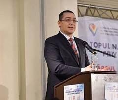 Ponta, despre sefia Camerei: In Romania, daca esti nepregatit, ai toate sansele sa fii presedinte si premier