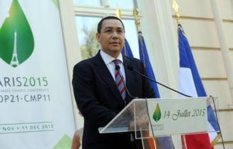Ponta, despre statul de drept: Suntem in urma Frantei, dimineata ne uitam la ghilotina