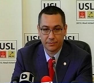 Ponta, despre sustinerea UNPR: Oprea a fost colegul nostru