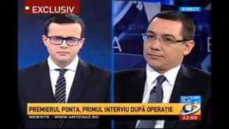 Ponta, din Istanbul via Facebook si Antena 3: Guvernarea merge bine