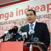 Ponta, dupa anuntul lui Dragnea privind sefia PSD: S-a sanctionat singur (Video)