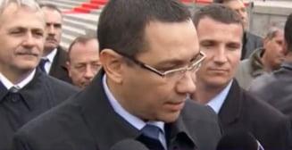 Ponta, dupa atacul lui Antonescu: E liniste in USL? Da!