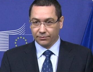 Ponta, dupa intalnirea cu Barroso: Absorbtia fondurilor europene, o prioritate