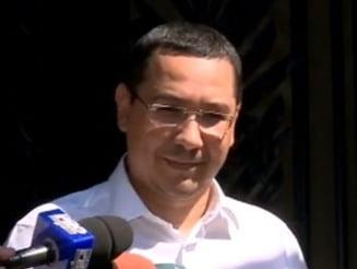 Ponta, fara carje la sedinta PSD: Proiectele nu se finalizeaza din cauza anchetelor