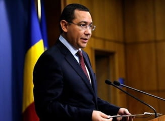 "Ponta, gata sa se ""dueleze"" la TV, dar pune conditii"