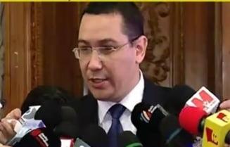 Ponta, inainte de votul din Parlament: Rusia sau un adversar al Romaniei se bucura daca avem criza