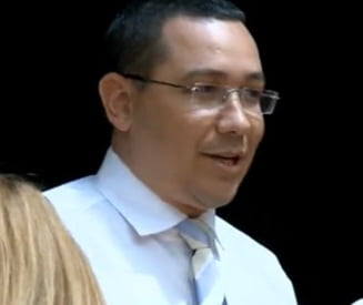 Ponta, infuriat de o jurnalista: Asa ati primit ordinul? (Video)