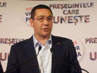 Ponta, ingrijorat de protestele din Moldova: Sa nu ne trezim cu primari prorusi la Chisinau si Balti