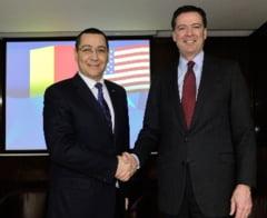Ponta, intalnire cu directorul FBI la Bucuresti - ce au discutat