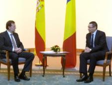 Ponta, intalnire cu premierul Spaniei - afla despre ce au discutat