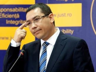 Ponta, intrebat daca are cineva dubii ca va candida: Eu am, intrucat cred ca trebuie sa refacem USL