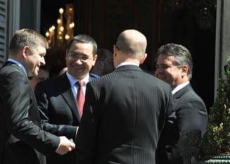Ponta, intrebat de scandalul Mircea Basescu la Paris