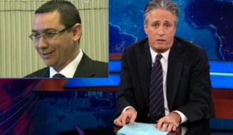 Ponta, ironizat la TV in SUA in scandalul carnii de cal